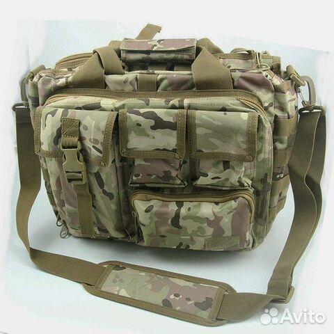 b32550f1e285 Сумка тактическая походная компьютерная мультикам купить в Москве на ...