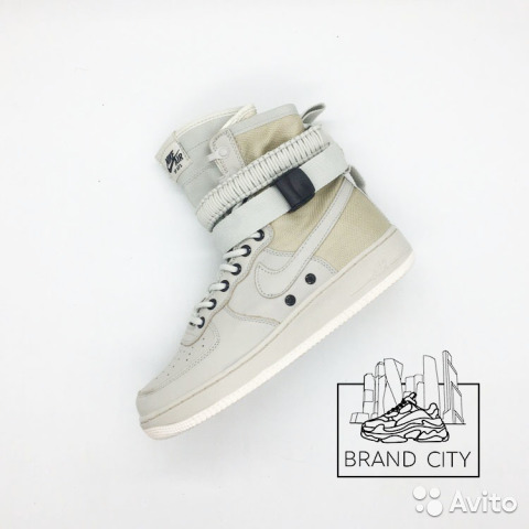c24b5c30 Nike SF Air Force 1 High Cream Grey купить в Москве на Avito ...