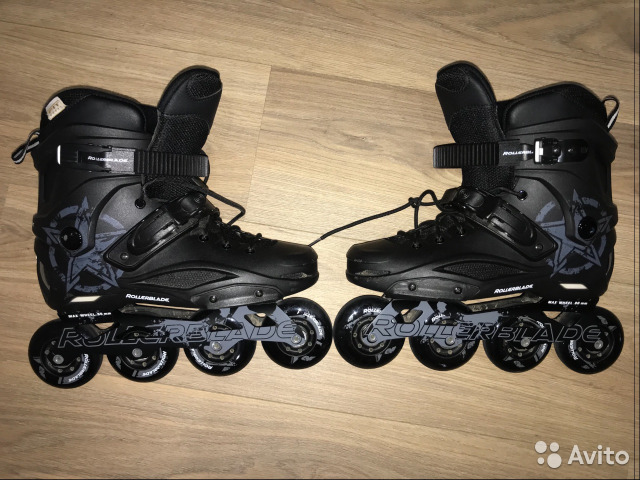 966fa8437807b4 Роликовые коньки Rollerblade RB 80 black купить в Санкт-Петербурге ...