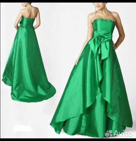 Платье вечернее атласное новое  89283449534 купить 1