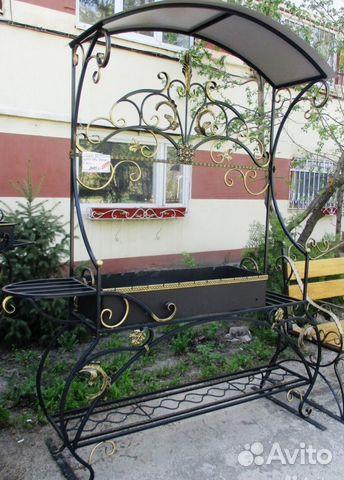 Мангал кованый с крышей 89020404437 купить 1