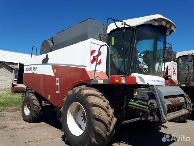 комбайн зерноуборочный acros 580