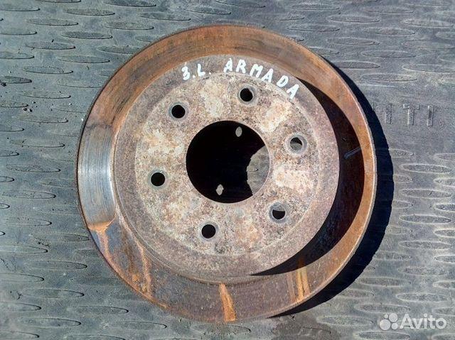 89026196331 Тормозной диск задний левый Nissan Armada VK56DE