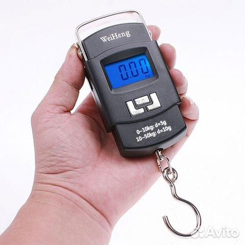 Портативный электронный безмен WH-A08 (ручка) весы