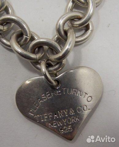 89617538239 Браслет Тиффани (серебро), 27 гр