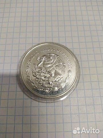 Мексика 100 песо 1985 год Серебро