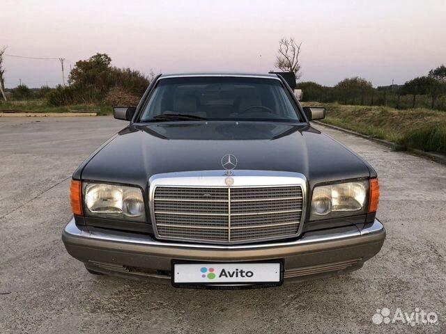 Mercedes-Benz S-класс, 1988 89062395760 купить 2