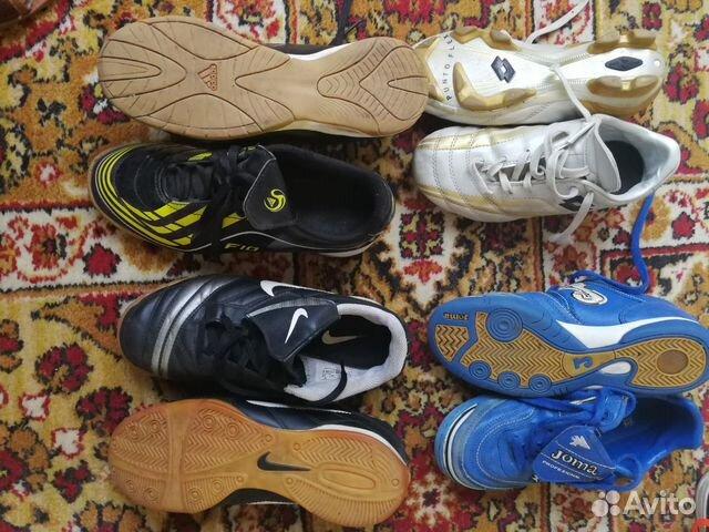 Обувь футбол. р-ры: 34,35,36 89122435512 купить 2