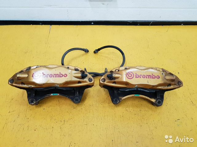 89625003353 Суппорта передние Brembo Gold Subaru Legacy, BE5