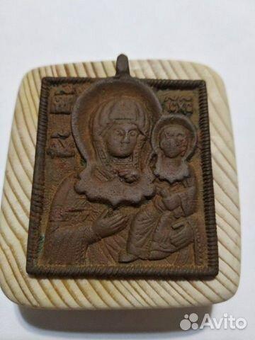 Нательная икона 17-18 век 89523187656 купить 1