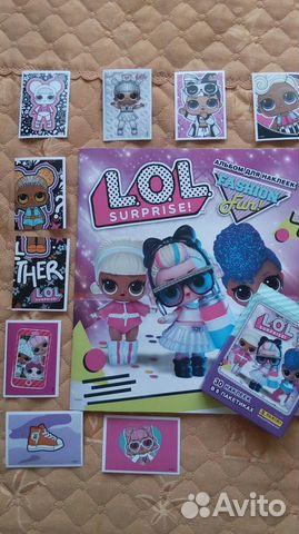 Наклейки из альбома LOL Surprise 3 89062210786 купить 1