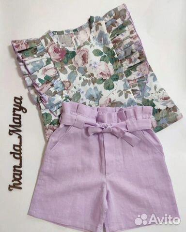 Топ и шорты