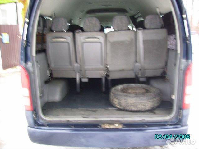 Toyota Hiace, 2006  89190047664 купить 6