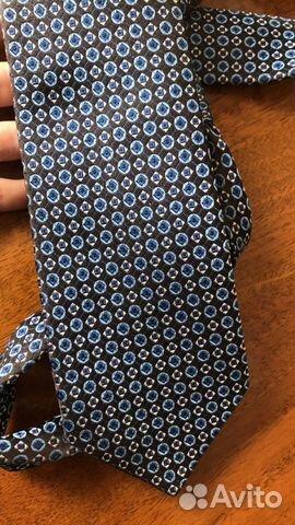 Шелковый галстук Hugo Boss оригинал  89062140028 купить 1