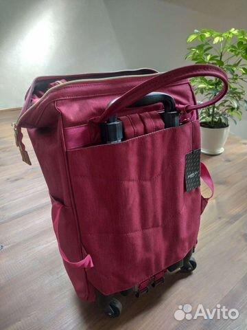 Новая сумка-рюкзак дорожная на колесиках barrley p  89208787198 купить 5