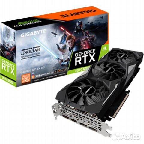 Видеокарта Gigabyte GeForce RTX 2070 super gaming