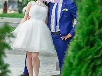 Платье свадебное,выпускной