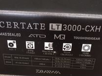 Daiwa certate 19 LT3000-CXH