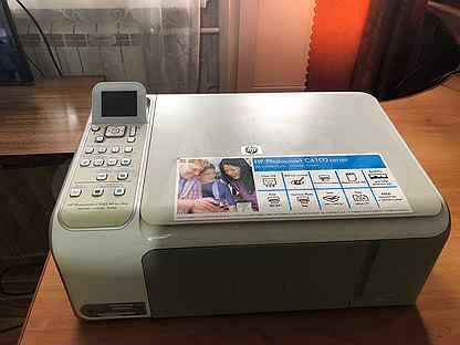 Мфу HP Photosmart C4183 принтер сканер копир