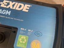 Аккумулятор 95ah AGM