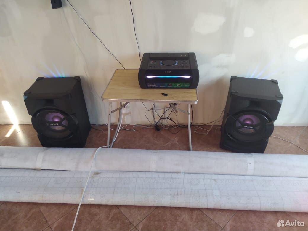 Музыкальный центр sony