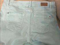Zara джинсы мята