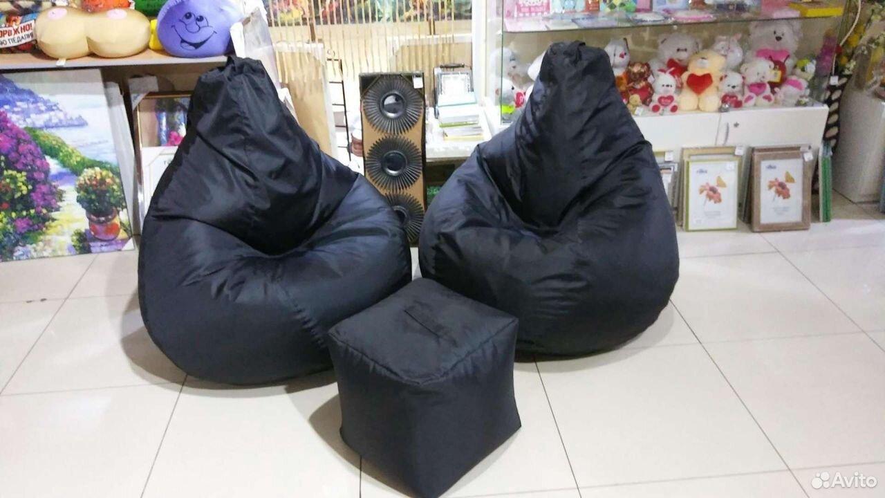 Кресло мешок Капля Большая нейлон  89068516983 купить 1
