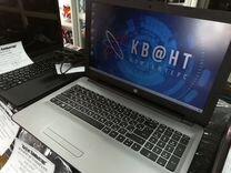 Мощный новый ноутбук HP на гарантии