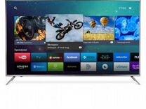 Крутой новый 4K TV 55 UHD 127см kivi