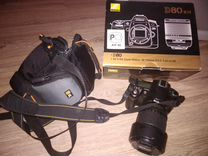 Зеркальный фотоаппарат Nikon D80 Kit 18-135 (чёрны