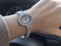 Часы серебряные с фианитами