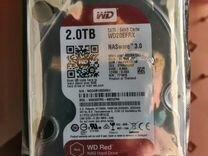 Жесткий диск 2Tb WD RED WD20efrx