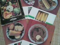 Акценты набор открыток с кулинарными рецептами