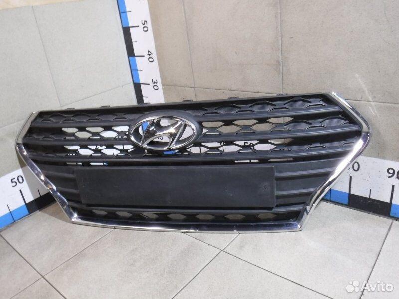 Решетка радиатора Hyundai Solaris 2  88126085211 купить 2