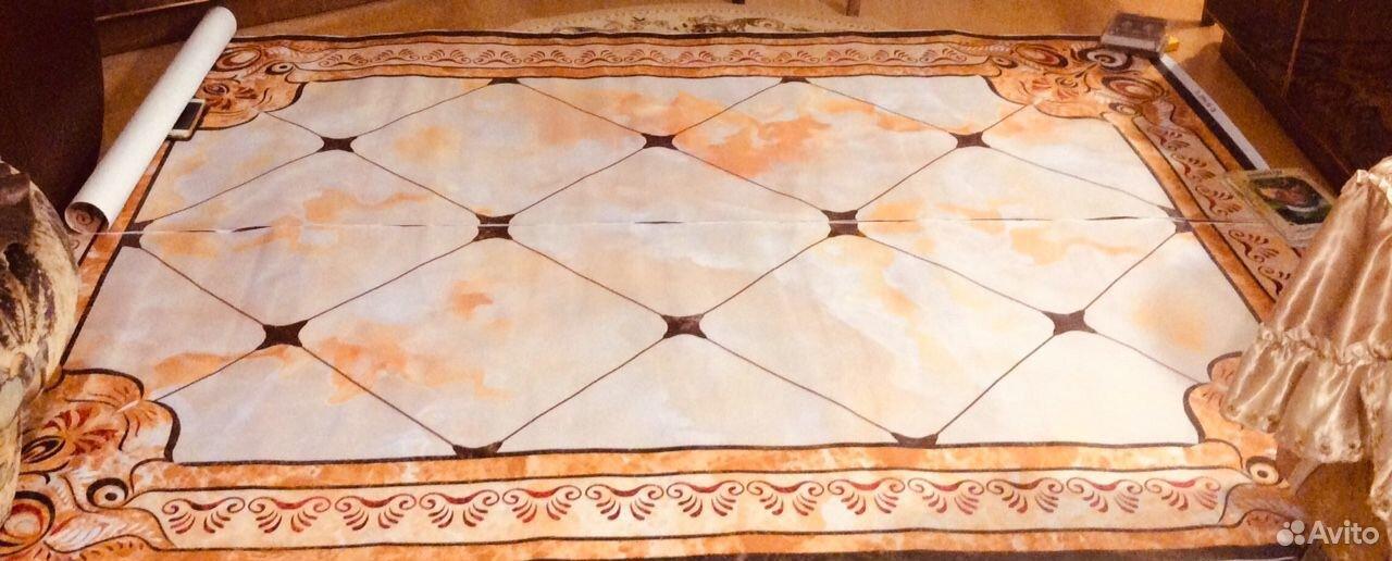 Самоклеящийся стикер на пол или стену