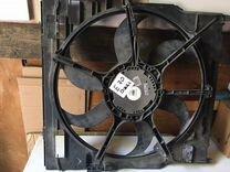 Вентилятор Бмв е70 дизель