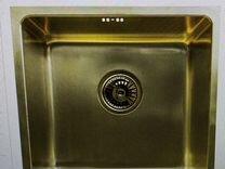 Мойка кухонная light bronze