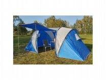 Палатка двухкомнатная lanyu LY-1699 4х местная