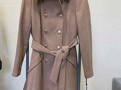 Новое шерстяное пальто dkny оригинал L