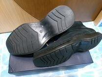 Натуральные мужские зимние ботинки