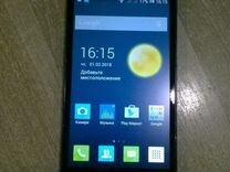 Смартфон на Андроиде Alcatel pixi 3(4.5) 4027D