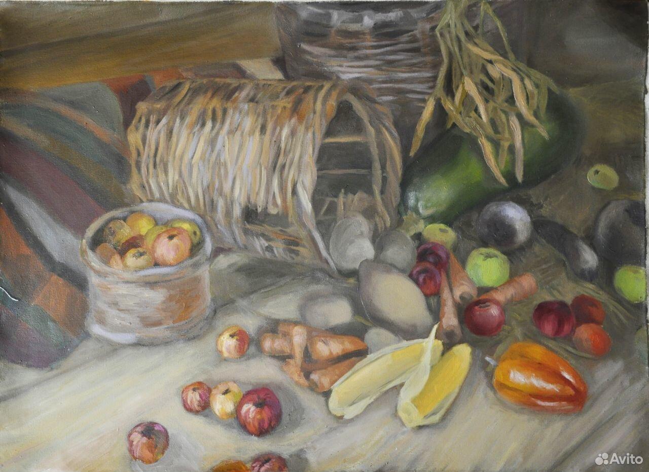 Живопись картины натюрморт  89105401423 купить 2