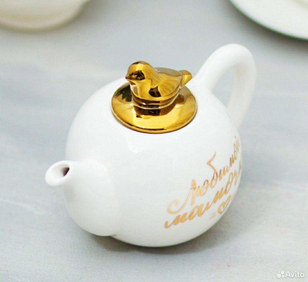 Заварочный чайник Любимой мамочке  89224470063 купить 4