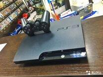 Sony PS3 прошитая+100супер игр+год гарантии