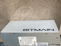 Блок питания б/у Bitmain APW3++1600w asic Antminer