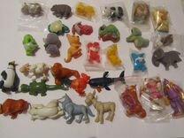 Животные разных континетов и из других серий