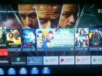 Android тв приставка A95X Pro с голосовым управлен