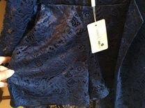 Костюм кружевной(шорты+пиджак)