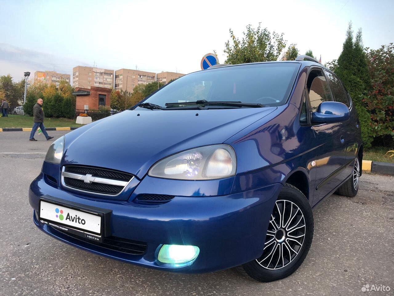 Chevrolet Rezzo, 2008  89065637466 купить 1