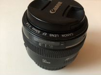 Объектив Canon EF 50mm f/1.4